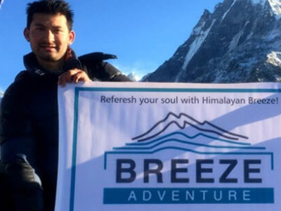 trekking Nepal in January
