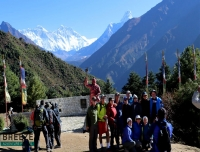 Group Picture at Everest View Point/ Express Everest Base Camp Trek