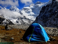 Our Tent at Kanchenjunga North Base Camp/ Kanchenjunga North Base Camp Trek