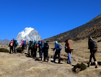 Way To Lobuche and Everest Base Camp Trek