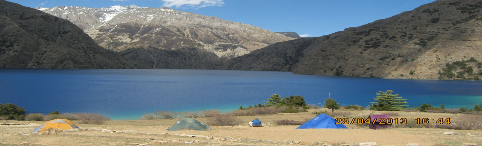 View of Shey Phoksundo Lake