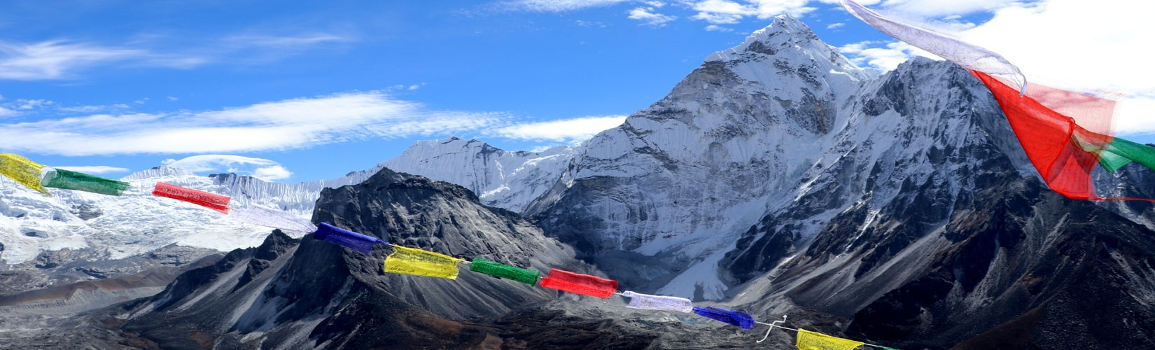 Amadablam view in everest region trek