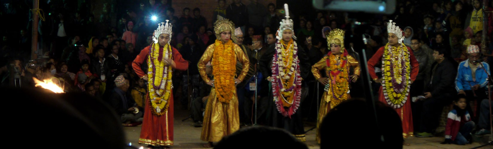 Kartik Naach in Patan Nepal