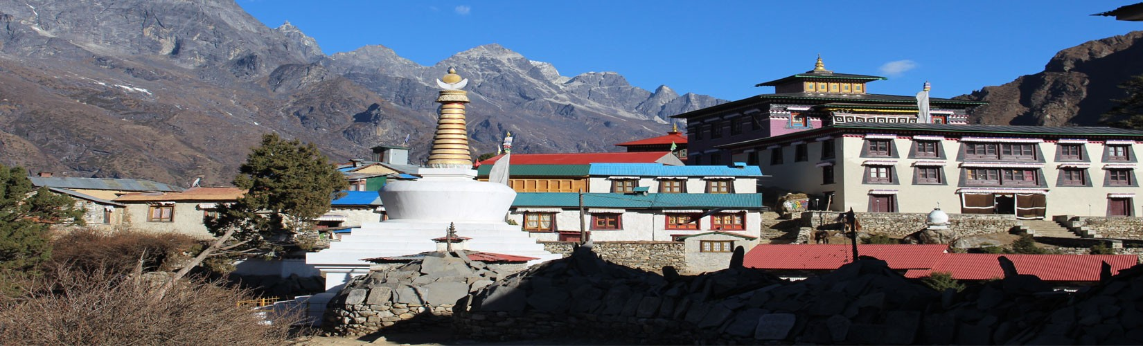 Tengboche Monastery in April
