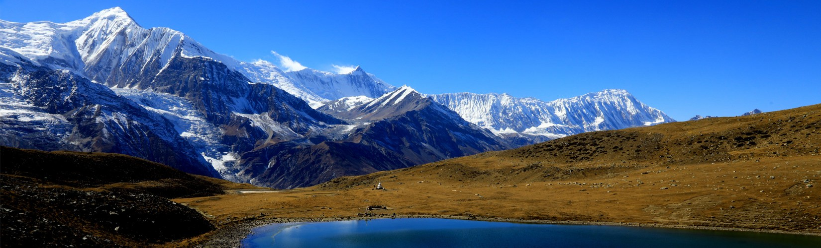 Annapurna Himalayan Range from Ice Lake