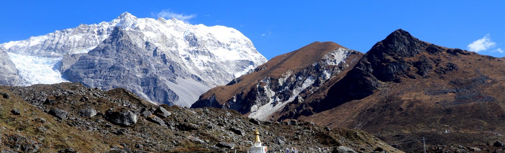 Langtang Valley View from Kyanjin Gumpa