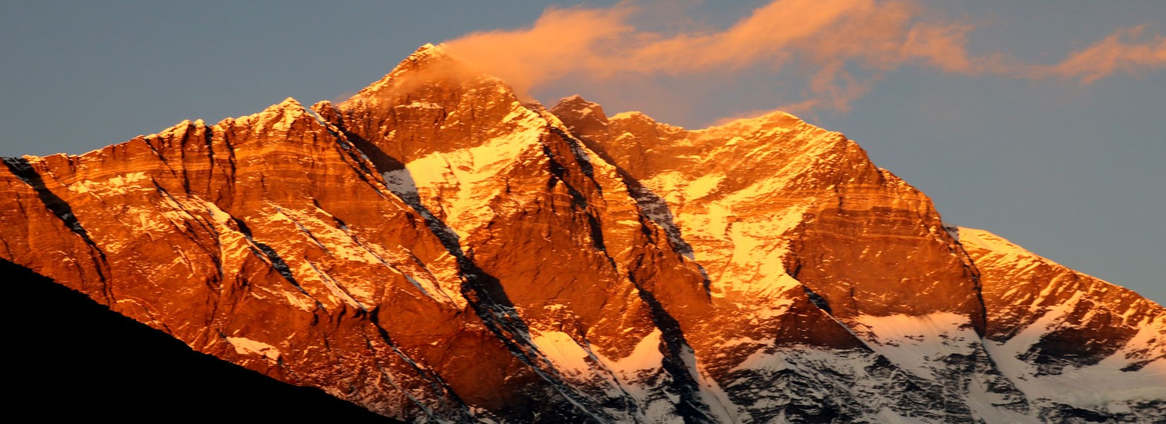 Mt. Lhotse in Nepal