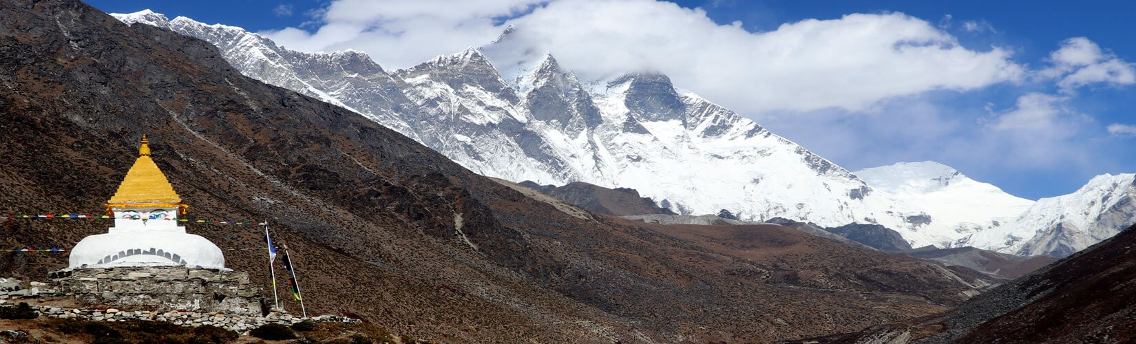 Picture from Dingboche Stupa