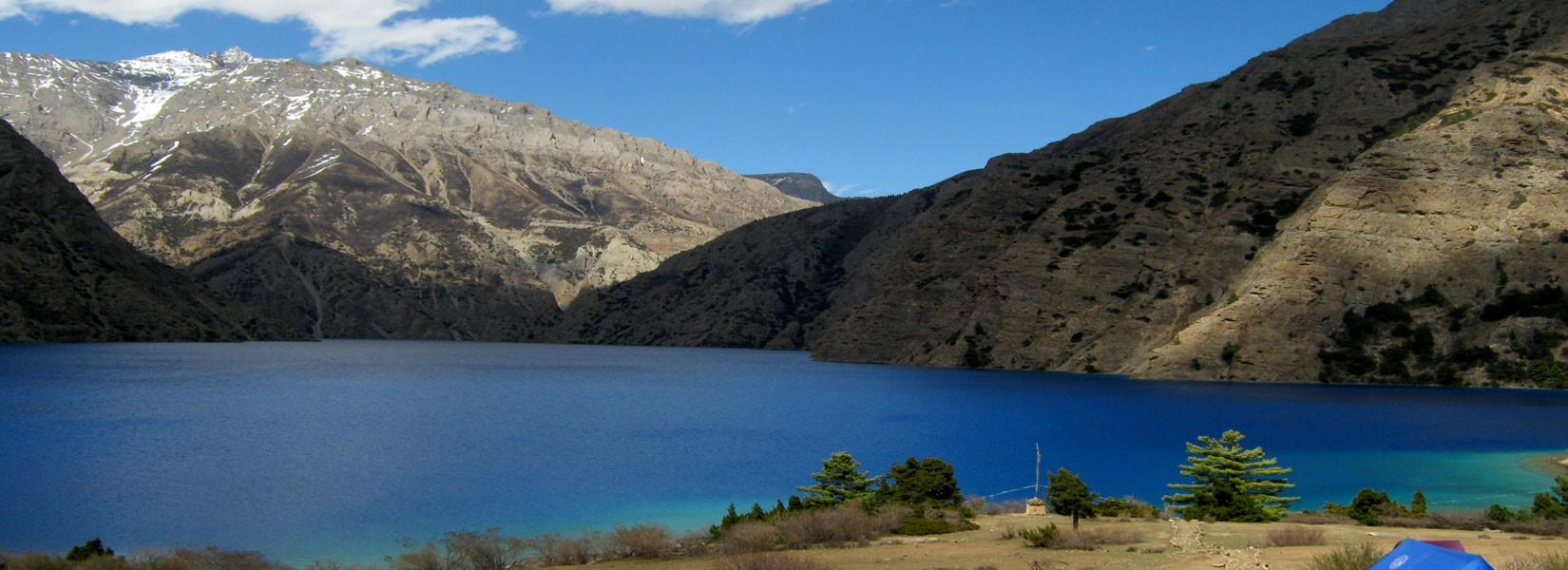 Shey Phoksundo Lake view