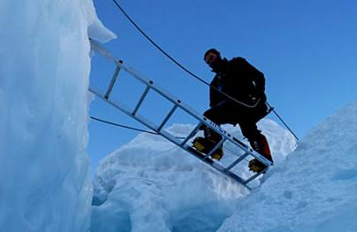 Crossing the Crevasse