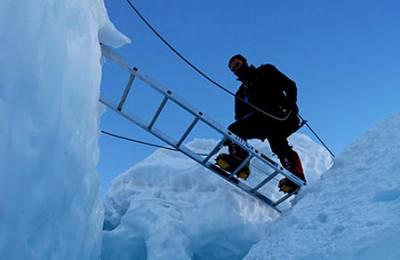 Crossing the Crevasse