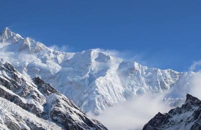Mt. Kanchenjunga ridges